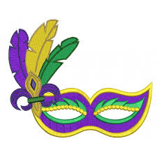 mardi gras masks mardi gras mask with feathers and fleur de lis filled machine