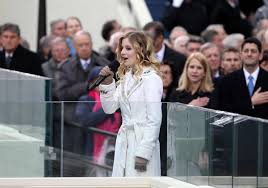 Teen     s national anthem voice dazzles inauguration ceremony   News     The Daily Independent Delivering the anthem
