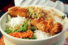 cuisiner des nems recette bobun bún gà chả giò và tôm bun cha gio va tom bo bun