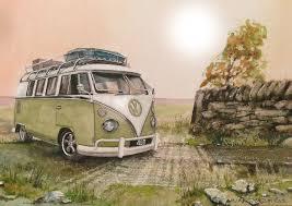 wallpaper volkswagen van volkswagen volkswagen transporter type 2 minivan road painting