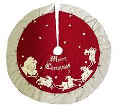 Lighted Christmas Tree Skirt Christmas Tree Skirts U0026 Rugs Traditions
