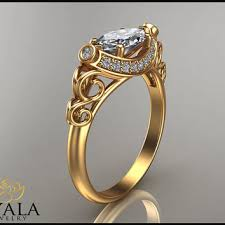 stunning ring for newlyweds marquise diamond anniversary ring