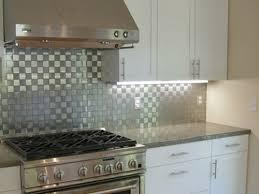 stainless kitchen backsplash stainless steel backsplash tatertalltails designs modern