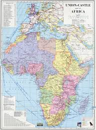 World Map Of Africa by Africa And The British Empire Maps