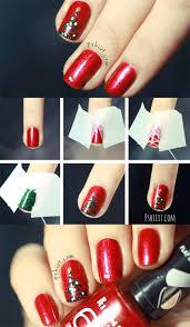 nail spiration christmas nail art nail romance