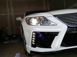 lexus ls460 for sale atlanta ga jimmy u0027s ls460 build blackpearl front kit clublexus lexus