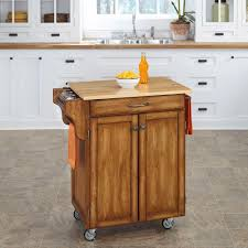 Small Kitchen Cart by Crosley White Kitchen Cart With Natural Wood Top Kf30051wh The