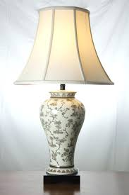 Flower Table Lamp Table Lamp Floral Table Lamp Base Hurricane Red Vintage Lamps