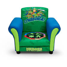 Upholstered Chair by Delta Children U0027s Products Nickelodeon Ninja Turtle Upholstered