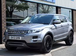 land rover metallic second hand land rover range rover evoque 2 2 sd4 prestige 5 door