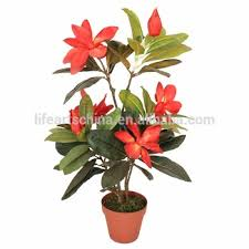 artificial tree 65cm magnolia flower tree bonsai tree for sale