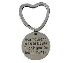 godmother keychain godmother gift godmother keychain godmother jewelry