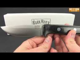 bark river kitchen knives bark river knives bravo 1 knife green micarta fixed blade 4 25