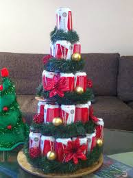 beer can tree budweiser beer christmas tree pinterest xmas