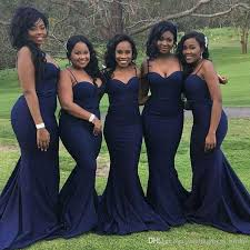 black bridesmaid dresses spaghetti straps mermaid bridesmaid dresses 2018