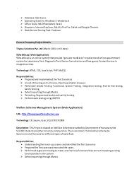Software Testing Resume Software Tester Resume Asheesh