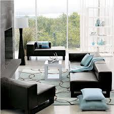 Black Leather Sofa Living Room Design Living Room Beautiful Model Living Room Design Dining Room
