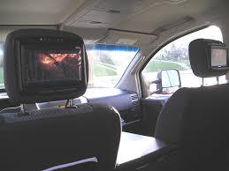 nissan armada dvd player not working dvd u0026 headrest monitors install made easy nissan titan forum
