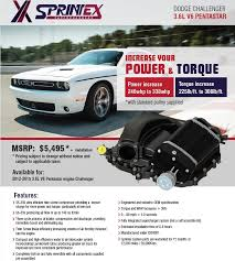 2015 dodge challenger msrp 2012 2015 dodge challenger 3 6l pentastar sprintex supercharger kit