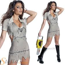 Texas Chainsaw Halloween Costumes Ladies Leatherface Texas Chainsaw Massacre Halloween Fancy