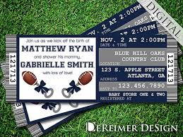 dallas cowboys baby shower invitations dallas cowboys baby shower