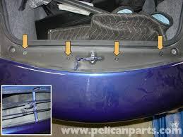 porsche trunk in front porsche boxster front bumper removal 986 987 1997 08