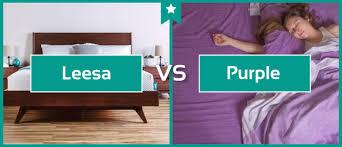 purple mattress reviews leesa vs purple mattress comparison memoryfoamdoctor