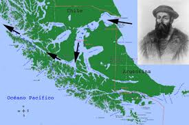 Magellan Route Map by Specifics About The Pacific Field Notes North Coast Journal