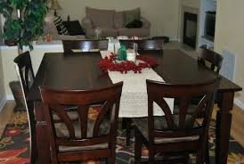 crocheted table cloth dining room extra long dining room table