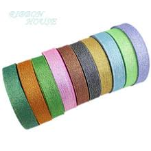 glitter ribbon wholesale compare prices on glitter organza ribbon online shopping buy low