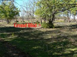 Natural Hunting Blinds Basic Whitetail Hunting The Ghost Blind