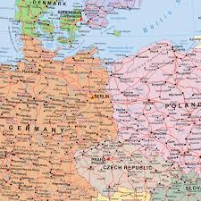 Europe Map 1500 by European Union Post Brexit Political Uk Out Wall Map Large 1