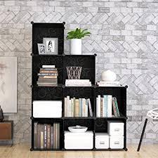Cube Storage Shelves Bookcases Amazon Com 9 Cube Modular Diy Storage Cube Organizer By Tespo 4