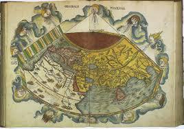 Fau Map Wingen Trennhaus 1991 Martin Behaims Erdapfel 1492