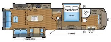 floorplan designer 2017 designer luxury fifth wheel floorplans prices jayco inc