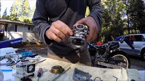 2006 suzuki dr200se carb cleaning for beginners youtube