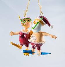 amazon com santa and mrs claus snorkeling christmas holiday