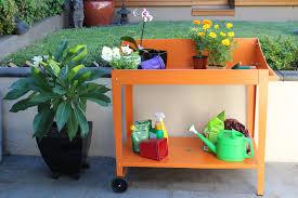 a potting bench concrete u2013 outdoor decorations