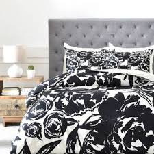 Black And White Twin Duvet Cover Buy Black Twin Duvet From Bed Bath U0026 Beyond