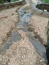 Drainage Ideas For Backyard Ideas For Sloped Washed Away Backyard