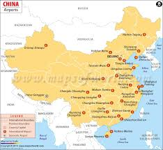 china on a map airports in china china airports map