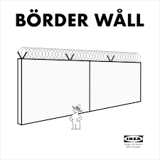 ikea börder wåll provides trump with affordable construction option