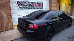 acura tl gets professional window tinting and top of the line