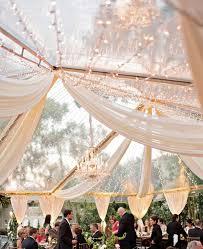 tent draping glamorous clear tent wedding draping and lighting kristen weaver