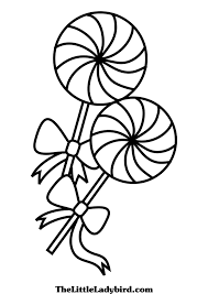 printable candyland coloring pages for kids and lollipop itgod me
