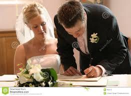 wedding register signing wedding marriage register stock photos image 466273