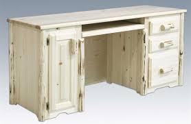 White Computer Desks For Home White Wood Computer Desk Furniture Design