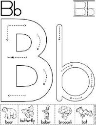 letter b mini book printable letter b mini books and beginning