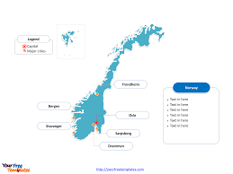 Map Of Norway Free Norway Editable Map Free Powerpoint Templates
