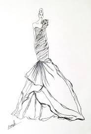 ball gown drawing wedding dress google search art pinterest for
